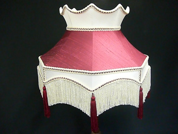 Victorian Lampshade Recovering