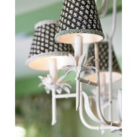 Clip On Chandelier, Drum, Contemporary, Lamp Shades
