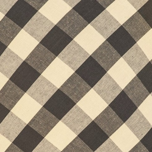 Charcoal Gingham Swatch