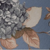China Blue Hydrangea Swatch