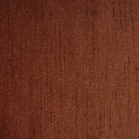 Chocolate Brown Dupion Swatch