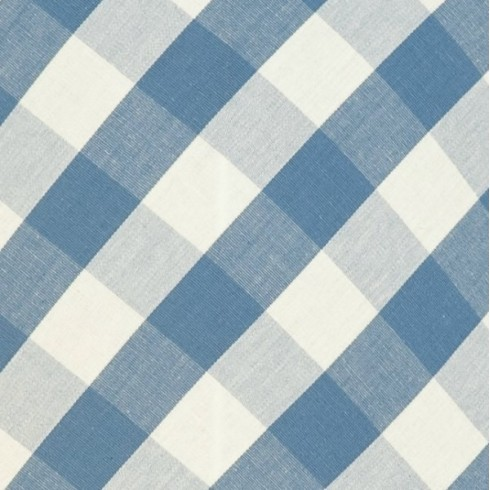 Cornflower Gingham Swatch