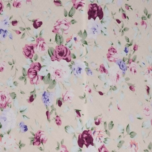 Lilac Floral Swatch