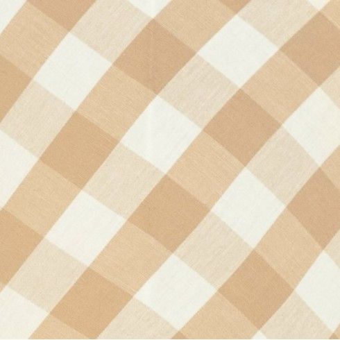 Natural Gingham Swatch