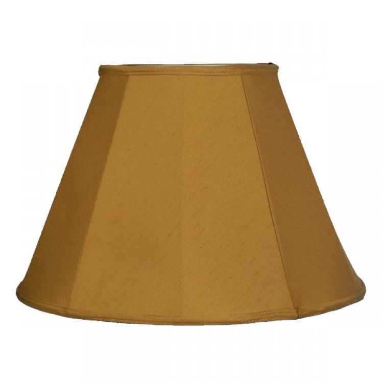 Antique Gold Contemporary Fabric Lampshades