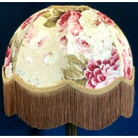 Double Gold Chintz Dome