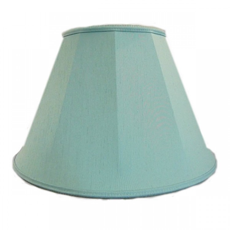 Duck Egg Blue Contemporary Fabric Lampshades
