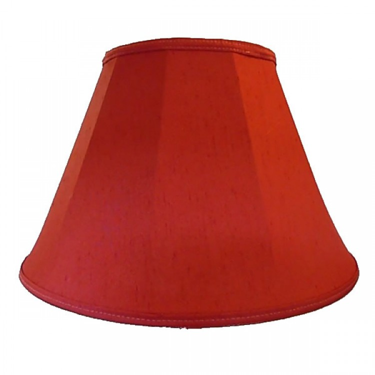 Rosso Red Contemporary Fabric Lampshades