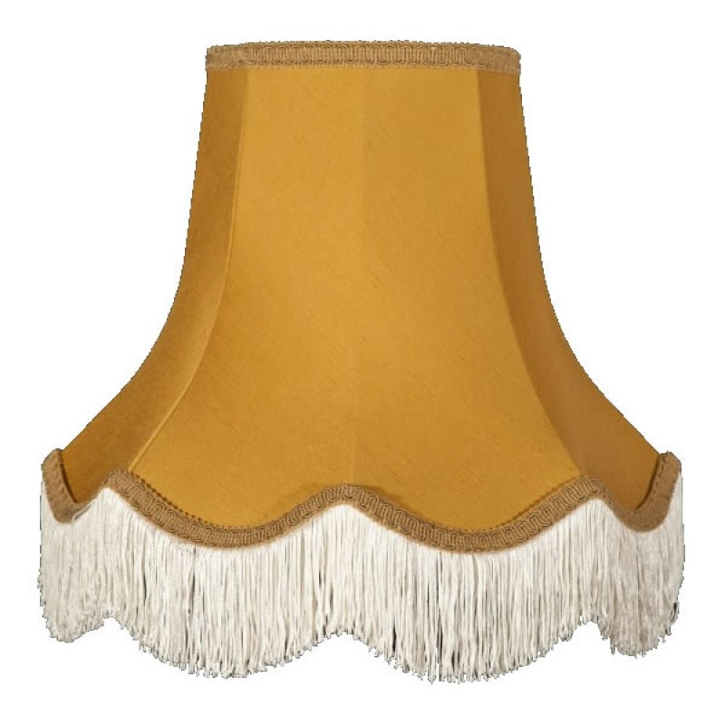 Gold Wall Lamp Shades : Antique Gold Elizabeth Lampshade