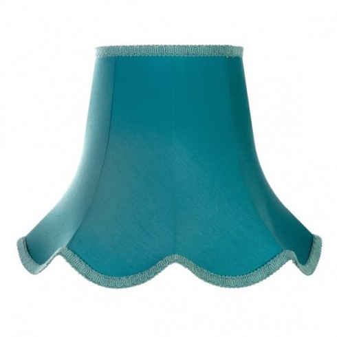 Azure Blue Modern Fabric Lampshades