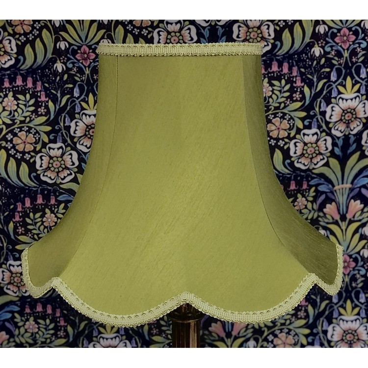 Olive Green Modern Fabric Lampshades