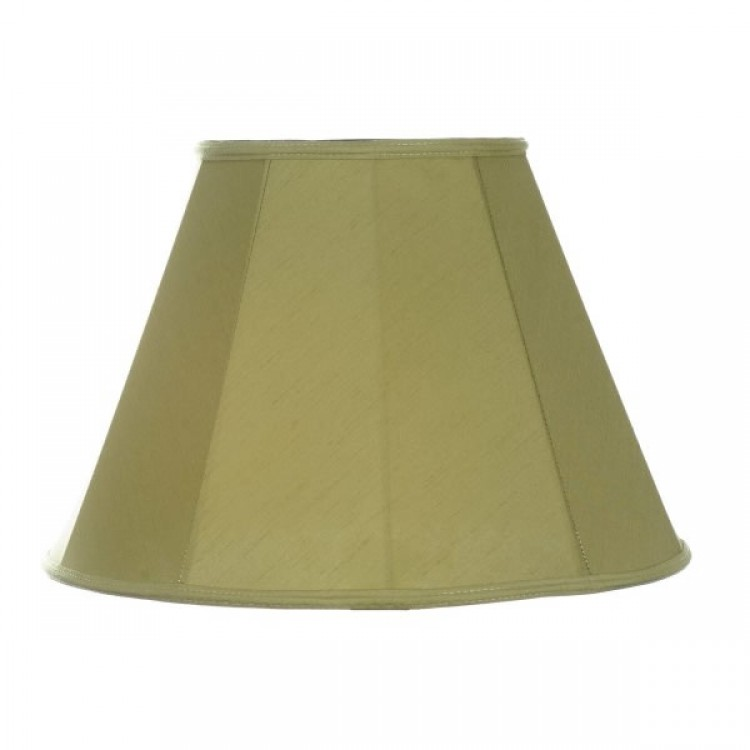 Olive Green Contemporary Fabric Lampshades