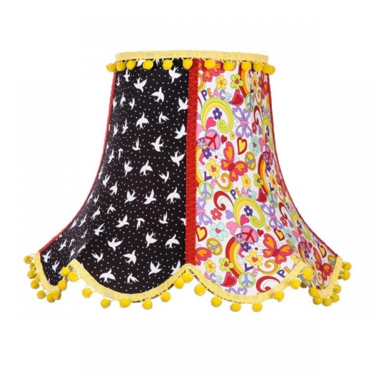 Peace Fabric Lampshades