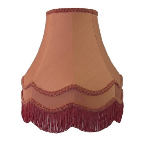 Pink Double Fabric Lampshades