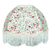 Rose Floral Dome Fabric Lampshades