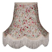 Rose Floral Fabric Lampshades