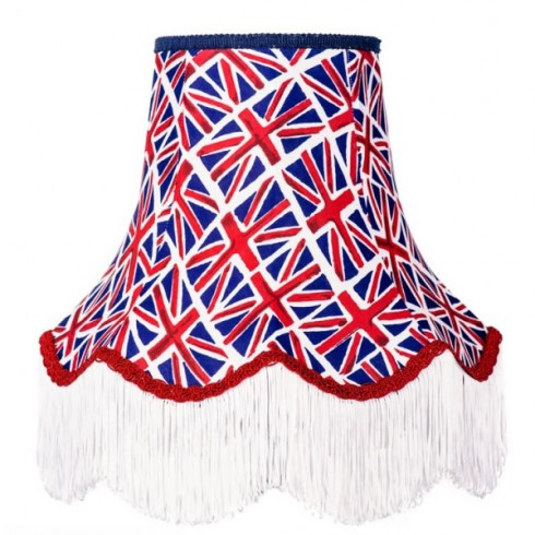 Union Jack Fabric Lampshades