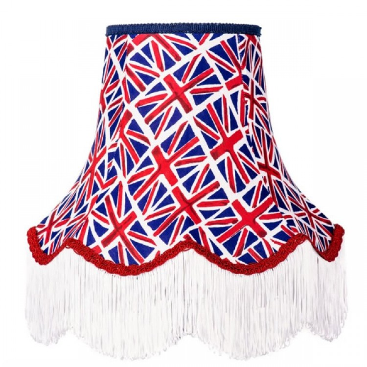 18 Inch Union Jack Fabric Lampshade