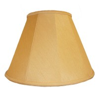 Corn Light Gold Contemporary Fabric Lampshades