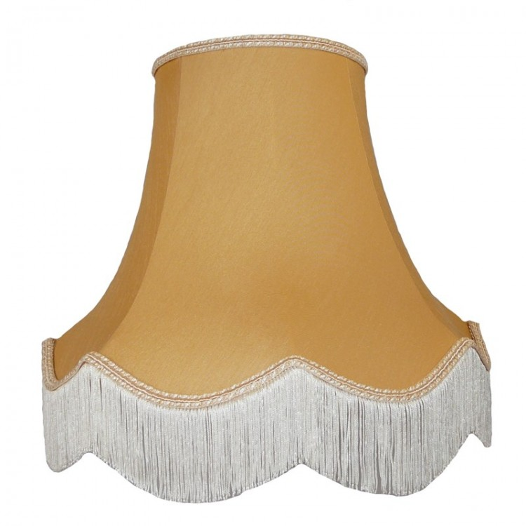Corn Light Gold Fabric Lampshades
