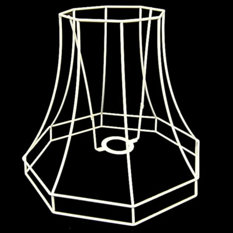 Lampshade frames octagonal lampshade frame greentooth Gallery