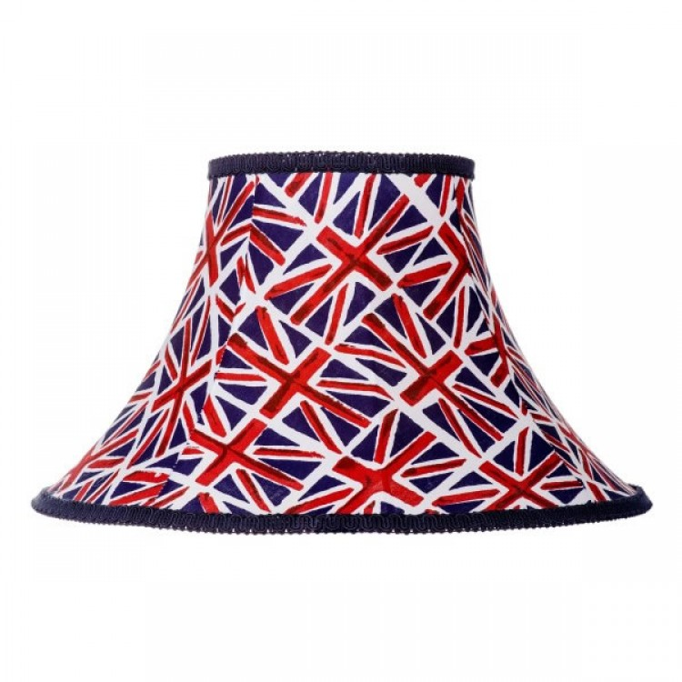 Union Jack Empire Fabric Lampshades