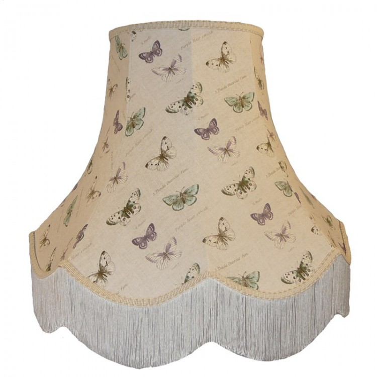 Butterflies Butterfly Fabric Lampshades