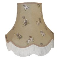 Dogs Design Fabric Lampshades