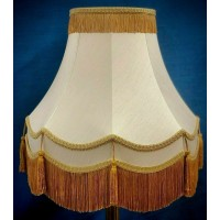 Regal Gold Fabric Lampshades