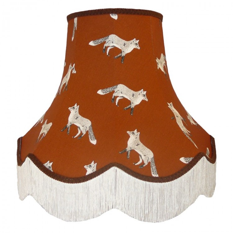 Fox Design Fabric Lampshades