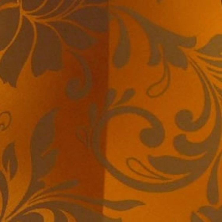 Harlequin Orange Spice Fabric