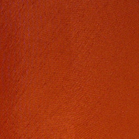 Terracotta Orange Dupion Swatch