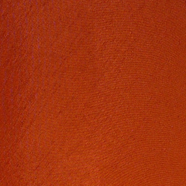 Terracotta Orange Dupion Fabric