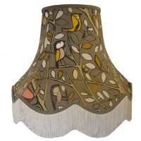 Tweety Bird Charcoal Grey Fabric Lampshades
