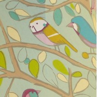 Tweety Birdie Duck Egg Swatch