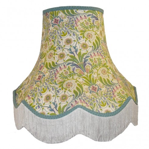 William Morris Natural Fabric Lampshades