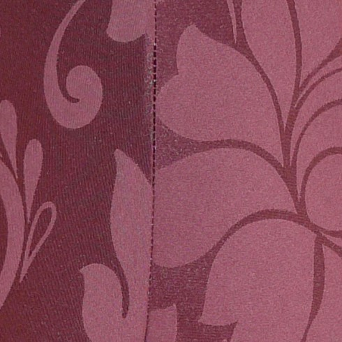 Wine Brocade Swatch