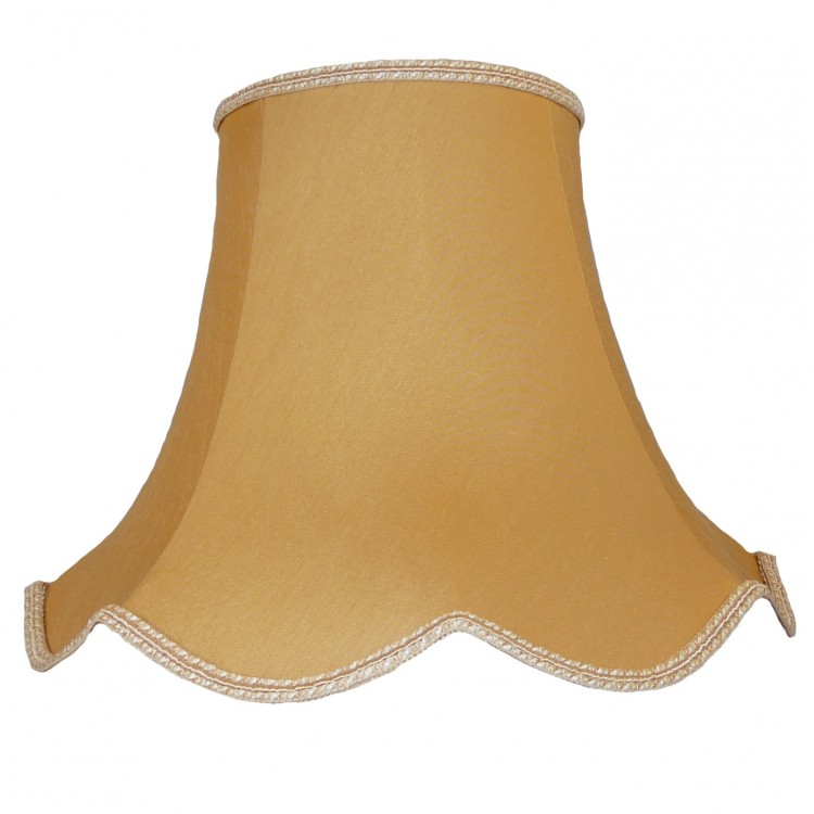 16 Inch Corn Modern Fabric Lampshade
