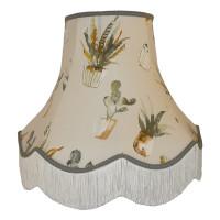 Cactus Grey Fabric Lampshades