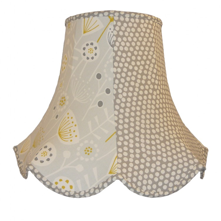 Grey Autumn Fabric Lampshades