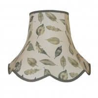 Autumn Leaf Modern Fabric Lampshades