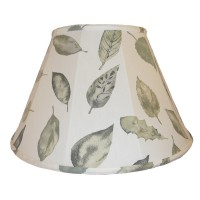 Autumn Leaf Contemporary Fabric Lampshades