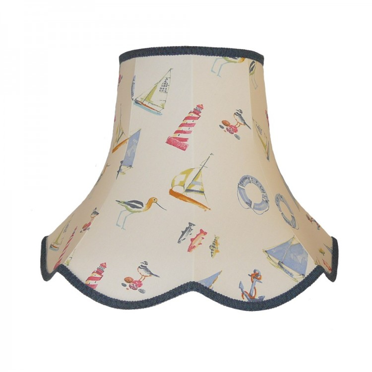 Padstow Nautical Lampshade Solo