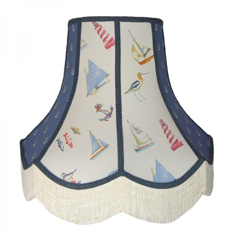 Padstow Panel Fabric Lampshade