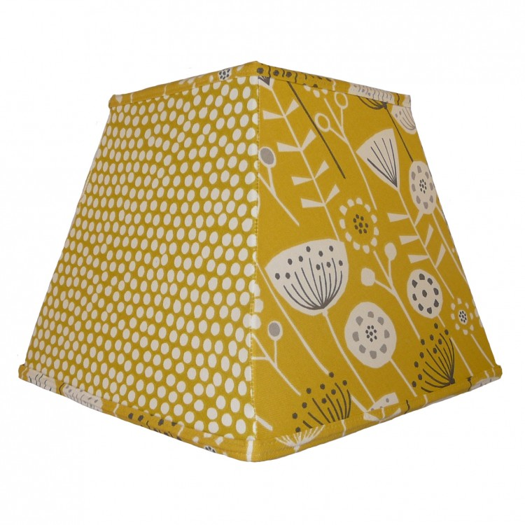 Wild Country Ochre Pyramid Fabric Lampshades
