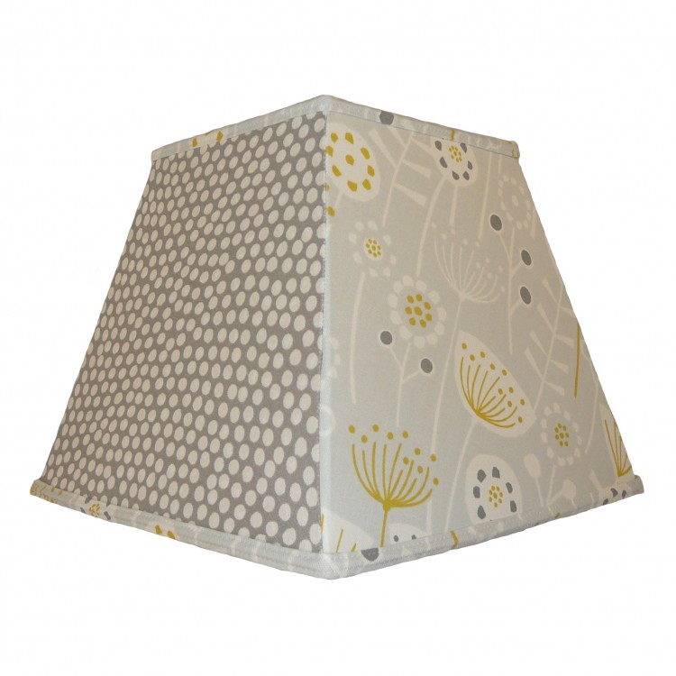 Wild Country Grey Pyramid Fabric Lampshades