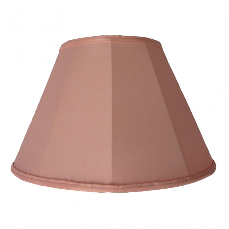 Baby Pink Contemporary Fabric Lampshades