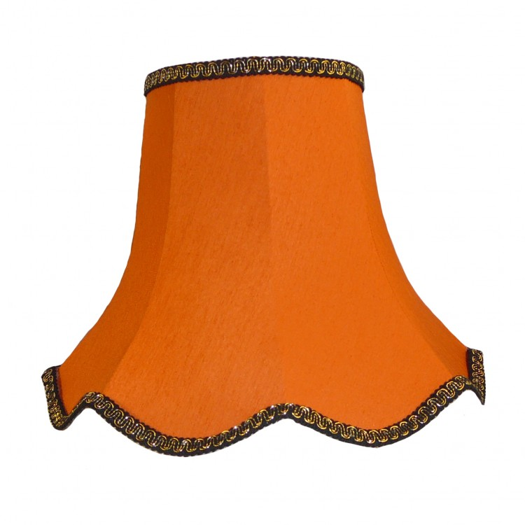 Orange Modern Fabric Lampshades