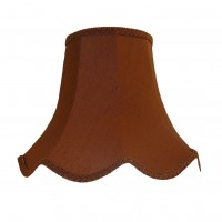 Chocolate Brown Modern Fabric Lampshades