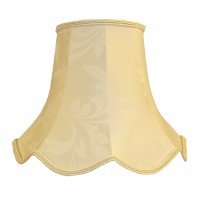 Cream Brocade Modern Fabric Lampshades